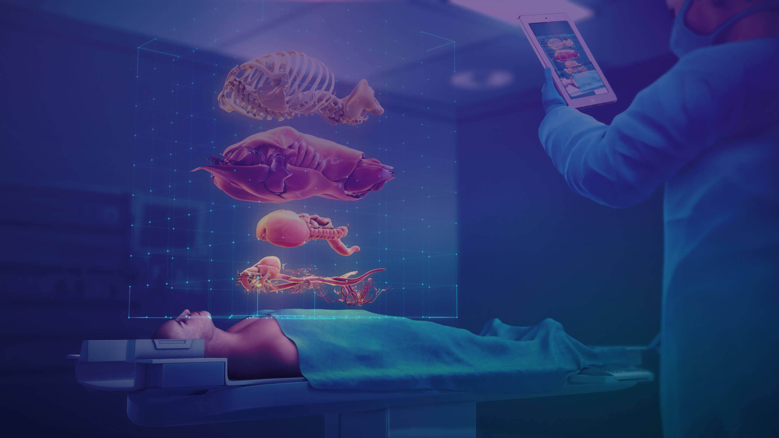 Virtual Reality and Augmented Reality in Healthcare Industry
