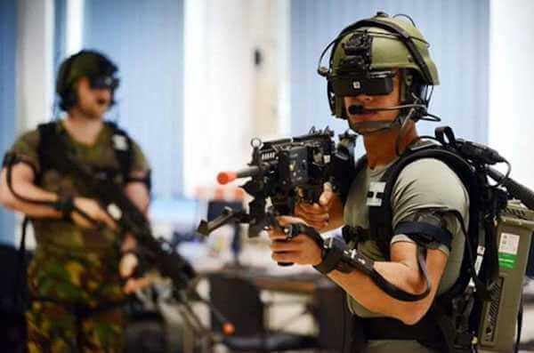 VR Training in Military