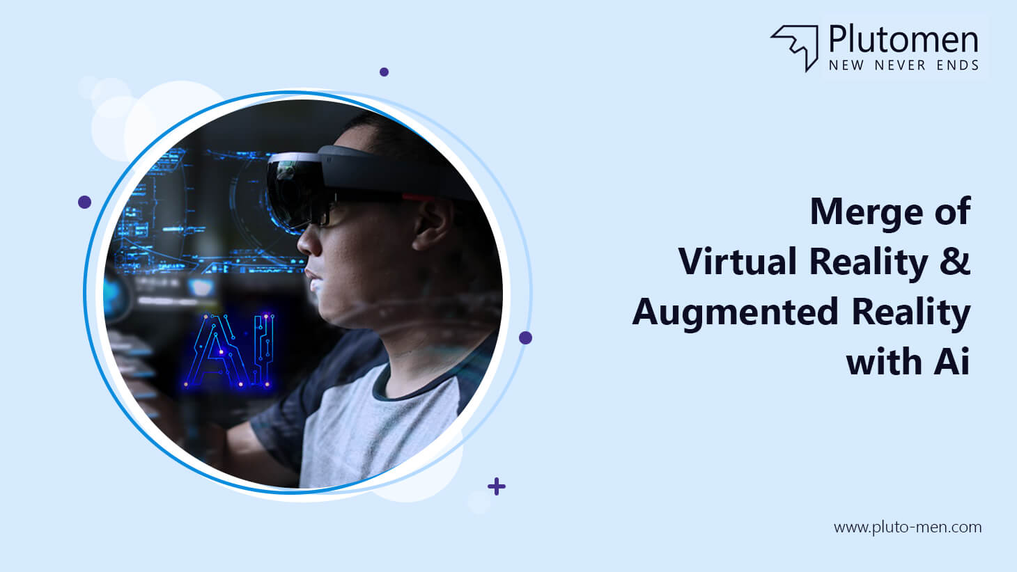 Merge of VR & AR with AI
